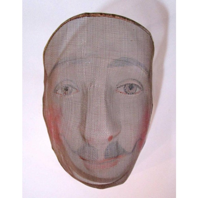 Early 1900's French Pantomime Masks - Pair - Image 2 of 10