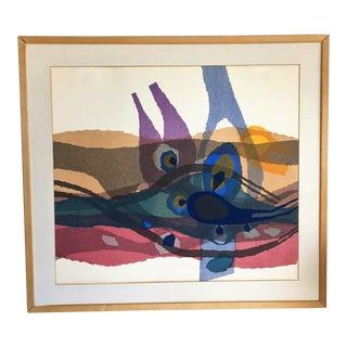 Silkscreen Print by Bernard Steffen