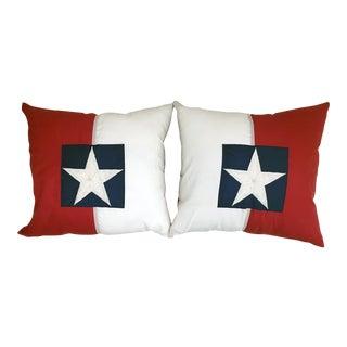 American Flag Pillows- A Pair
