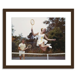 "Tom Kelley Archive ""Tennis Doubles"" Photograph"