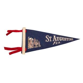 St. Augustine, Florida Felt Flag