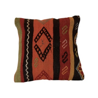 Vintage Square Handmade Boho Wool Pillow