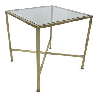 Brass Side Table