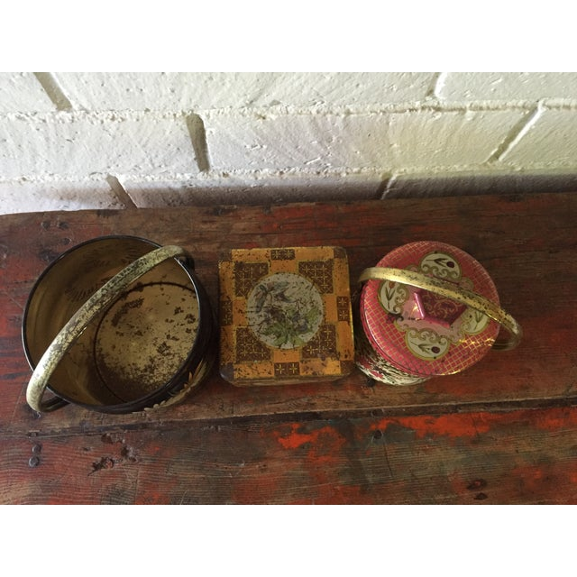 Rustic European Tins - Set of 3 - Image 3 of 10