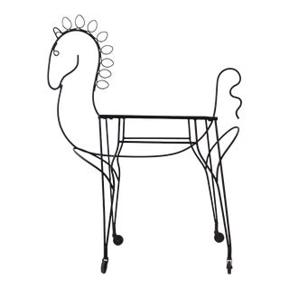 Frederick Weinberg Pony Bar Cart