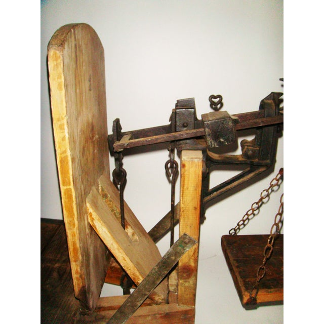 Image of 19th Century Swedish Weighing Scale
