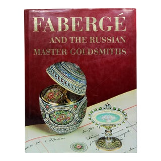 """""""Faberge and the Russian Master Goldsmiths"""" Book by Gerald Hill"""