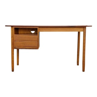 Vintage Teak Danish Modern Desk