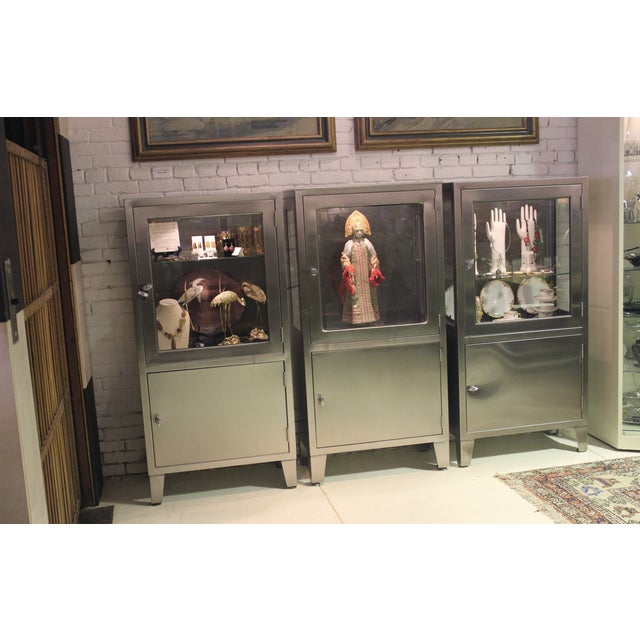 Stainless Steel Lit Medical Cabinet - Image 9 of 9