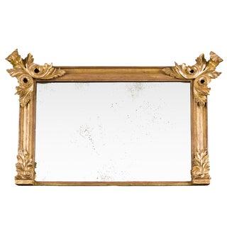 Overmantle Giltwood Mirror