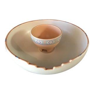 Taos Treasure Craft Dip Bowl Set