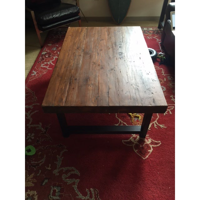 Griffin Reclaimed Wood Coffee Table: Pottery Barn Griffin Reclaimed Wood Coffee Table