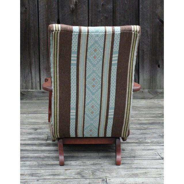 Vintage Reupholstered Rocker - Image 4 of 4