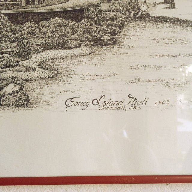 Image of Vintage Coney Island Mall Artwork