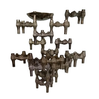 20 Piece Stacking Nagel Candle Holders/Sculpture