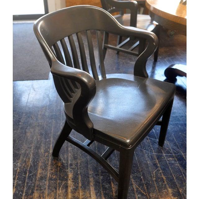 Image of Heritage Heavy Gray Oak Armchairs - Set of 8