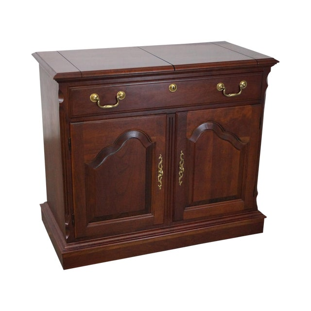 Pennsylvania House Solid Cherry Flip Top Server - Image 1 of 10