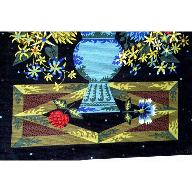 Alain Cornic for Aubusson Mid-Century Tapestry - Image 4 of 7