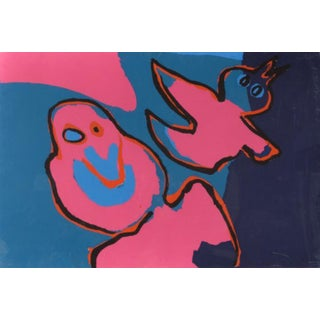 """The Birds Flying Out"" by Karel Appel"