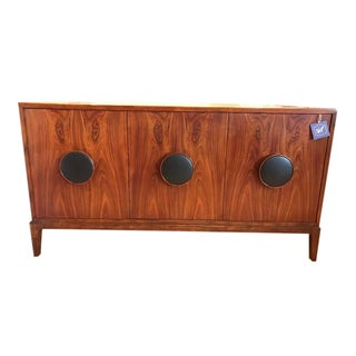 Modern History Lacquered Walnut Console