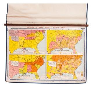 Vintage Denoyer Geppert Map