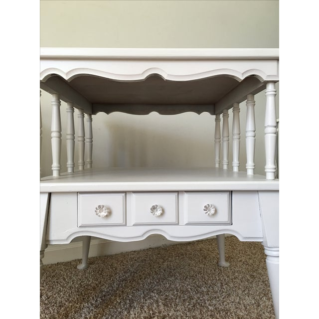 Vintage Transitional Nightstands - Pair - Image 5 of 5