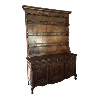 Martin of London Cherry French Country Style Buffet & Hutch