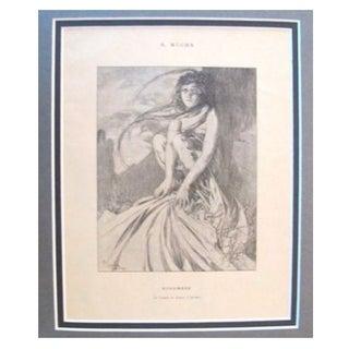 1899 Original Mucha Cocorico Illustration Nov.