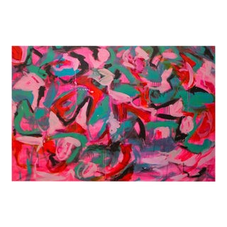 Shake It Out Abstract Painting