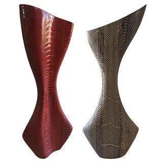 R & Y Augousti Vases - A Pair