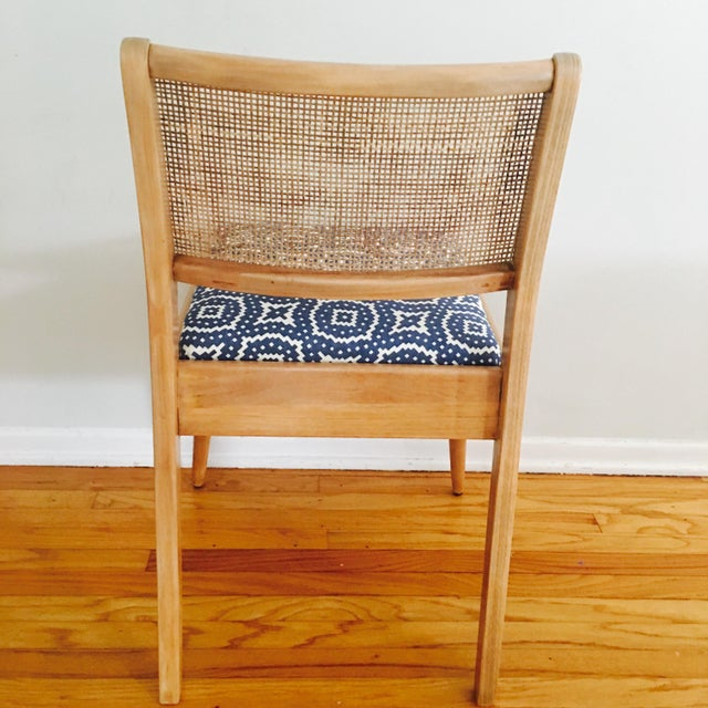 Boho Mid-Century Modern Cane Chair - Image 5 of 6