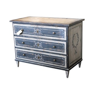 French Antique Painted Dresser