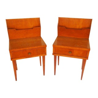 Italian Bedside Cabinets - A Pair