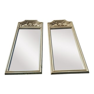 Vintage Higbee Hollywood Regency Rococo Wall Mirrors- A Pair