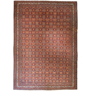 Exceptional Antique Oversize Persian Fereghan Carpet