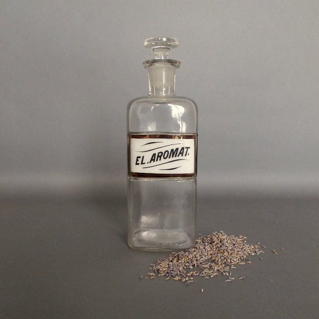 Antique Labeled Apothecary Bottle - Image 3 of 9