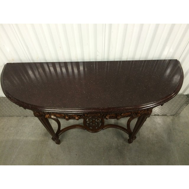 Maitland-Smith Carved Entry Table - Image 8 of 10