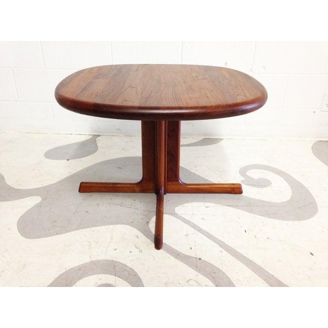 Dyrlund Mid-Century Modern Teak Side Table - Image 2 of 7