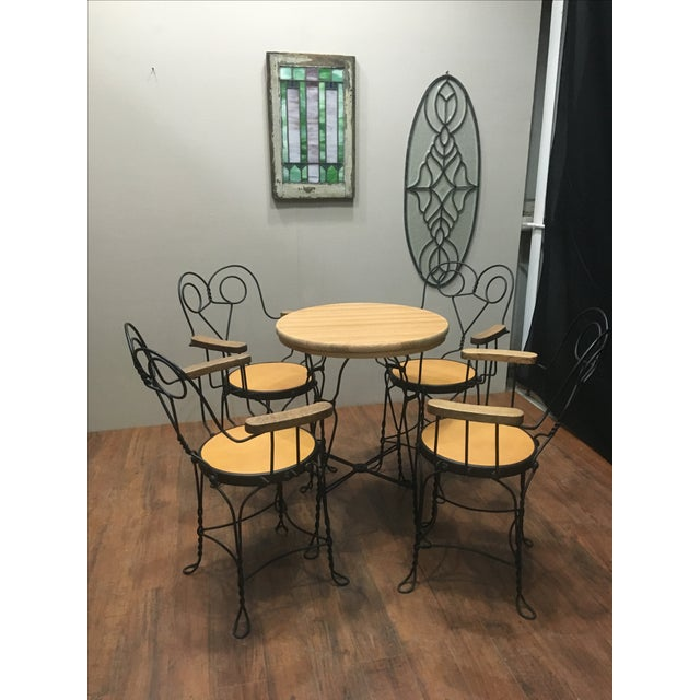 Image of Vintage Cafe Dining Set