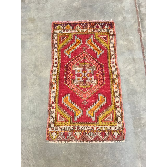 "Anatolian Persian Rug - 1'7"" x 2'11"" - Image 2 of 10"