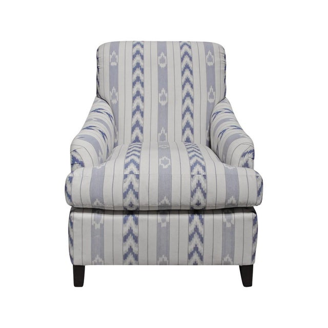 Image of Pearson Ikat Stripe Club Chair