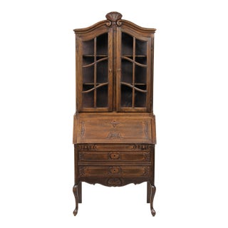 Belgian Louis XV Oak Secretary