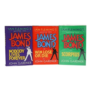 Vintage James Bond Book Collection - Set of 3