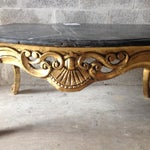Image of Handmade Coffee Table in Louis XVI Style
