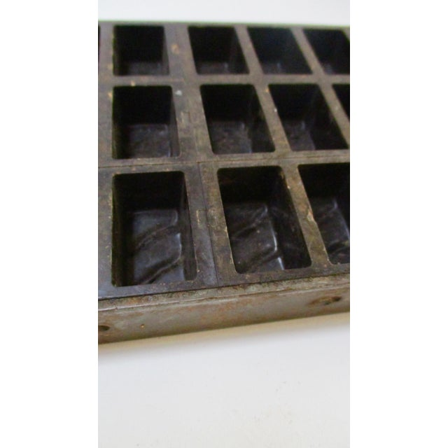 Image of Antique Industrial Chocolate Candy Mold