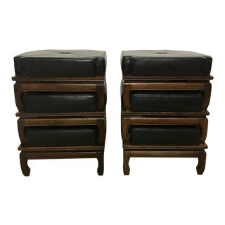 Ming Style Stacking Stools - Set of 6