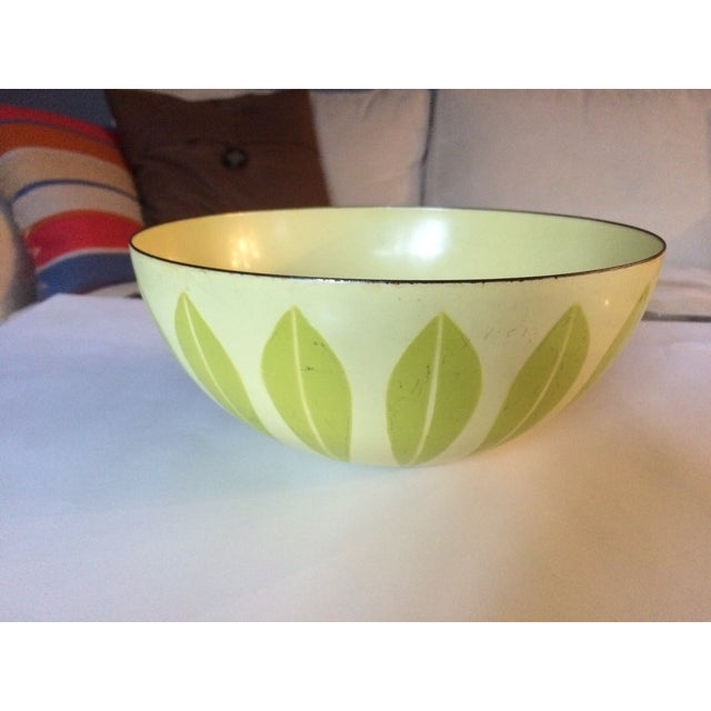 Cathrineholm Green And Yellow Lotus Bowl - Image 4 of 7
