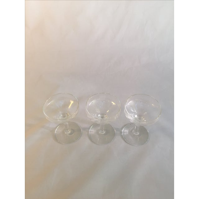 Antique Champagne Glasses - Set of 3 - Image 3 of 6