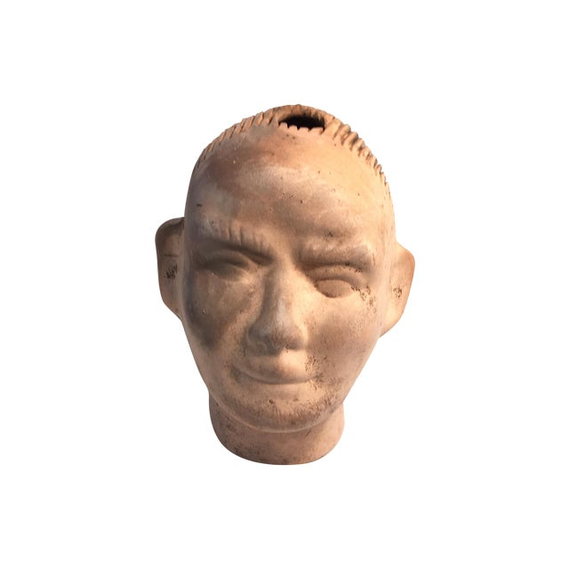 Vintage 1950s Growing Pottery Head - Image 1 of 5