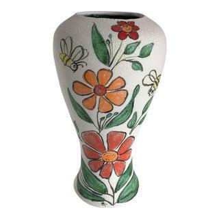 Vintage Artisan Studio Pottery Vase
